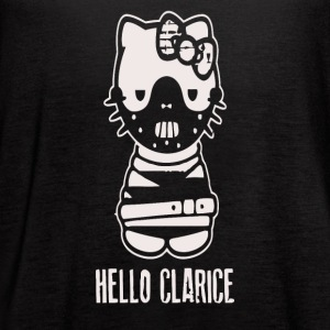 Hello Clarice Silence of the Lambs parody - Women's Flowy Tank Top by Bella
