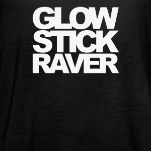 Glow Stick Raver - Women's Flowy Tank Top by Bella
