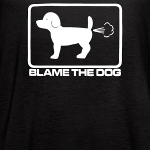 Blame The Dog - Women's Flowy Tank Top by Bella