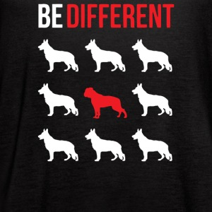 American Bulldog Shirt Be different - Women's Flowy Tank Top by Bella