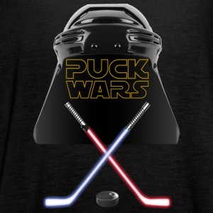 PUCK WARS - Women's Flowy Tank Top by Bella