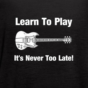 Learn to play guitar - Women's Flowy Tank Top by Bella