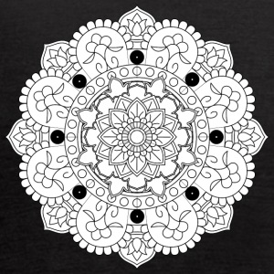 chakraan mandala decorative ornament design - Women's Flowy Tank Top by Bella