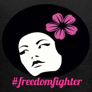 #freedomfighter - Women's Flowy Tank Top by Bella