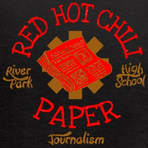 River Park High School Journalism Red Hot Chili Pa - Women's Flowy Tank Top by Bella