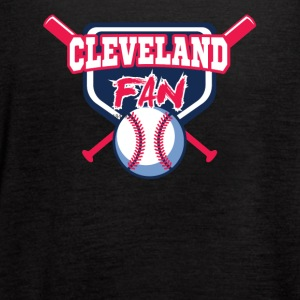 cleveland shirt - Women's Flowy Tank Top by Bella