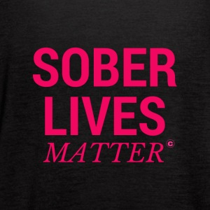 Sober Lives Matter Recovery T-Shirt - Women's Flowy Tank Top by Bella