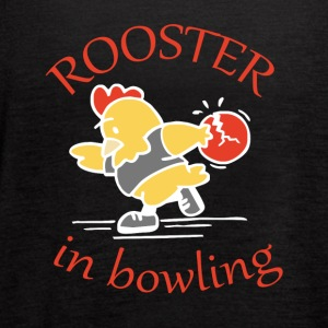 Rooster in Bowling - Women's Flowy Tank Top by Bella