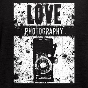 LOVE PHOTOGRAPHY - Women's Flowy Tank Top by Bella