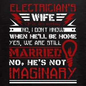Electrician Wife Shirt - Women's Flowy Tank Top by Bella