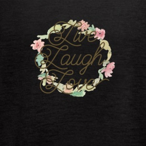 Live Laugh Love - Women's Flowy Tank Top by Bella