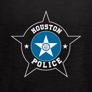 Houston Police T Shirt - Houston Flag - Women's Flowy Tank Top by Bella
