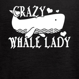 Crazy Whale Lady Tee Shirt - Women's Flowy Tank Top by Bella