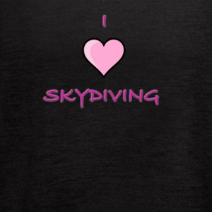 I Love Skydiving/BookSkydive/Perfect Gift - Women's Flowy Tank Top by Bella