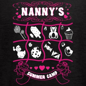 Nanny's Summer Camp T Shirt - Women's Flowy Tank Top by Bella