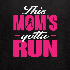 This Mom's Gotta Run - Women's Flowy Tank Top by Bella