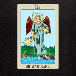 The Temperance Tarot Card Tee Shirt - Women's Flowy Tank Top by Bella
