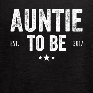 Auntie to be est 2017 - Women's Flowy Tank Top by Bella