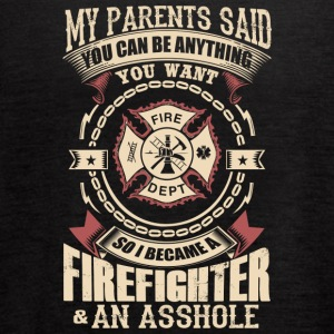 I Became A Firefighter - Women's Flowy Tank Top by Bella