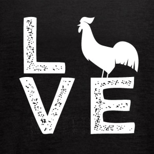 Love chicken - Women's Flowy Tank Top by Bella