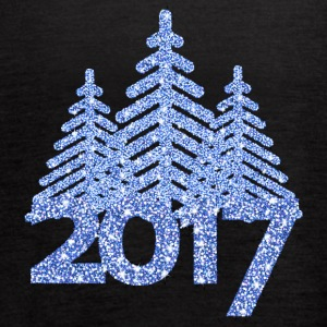 2017-christmas tree-new-year-christmas - Women's Flowy Tank Top by Bella