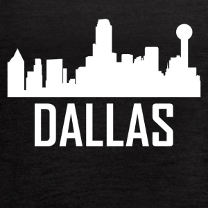 Dallas Texas City Skyline - Women's Flowy Tank Top by Bella