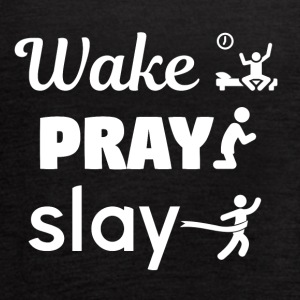 Wake Pray Slay - Women's Flowy Tank Top by Bella