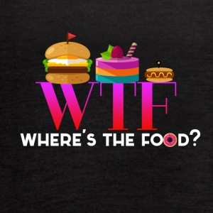 Where's the food? - Women's Flowy Tank Top by Bella