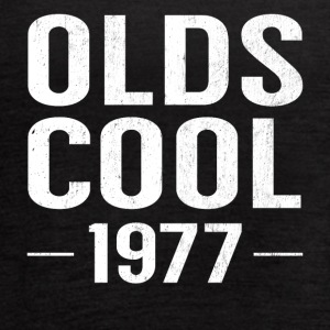 Birthday 40 Years Old Funny Olds Cool 1977 Pun - Women's Flowy Tank Top by Bella