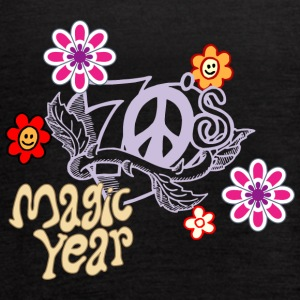 magic year - Women's Flowy Tank Top by Bella