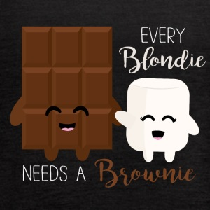 Every Blondie needs a Brownie - Women's Flowy Tank Top by Bella