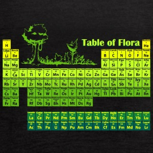 Periodic Flora - Women's Flowy Tank Top by Bella