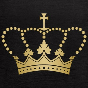 Royal golden crown monarch VIP vector - Women's Flowy Tank Top by Bella