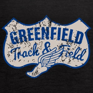 Greenfield Track Field - Women's Flowy Tank Top by Bella