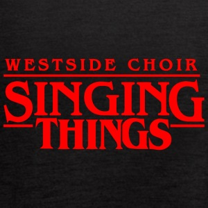 WESTSIDE SINGING THINGS - Women's Flowy Tank Top by Bella