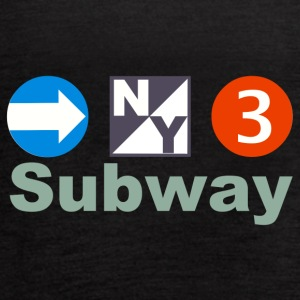 New York Subway - Women's Flowy Tank Top by Bella