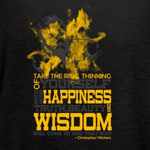 Happiness and Wisdom - Women's Flowy Tank Top by Bella