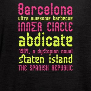 Barcelona ultra awesome barbecue - Women's Flowy Tank Top by Bella