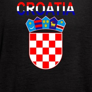 Croatia Coat Of Arms - Women's Flowy Tank Top by Bella