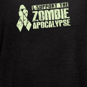 I Support The Zombie Apocalypse - Women's Flowy Tank Top by Bella