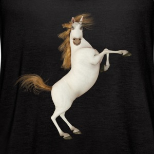 Funny Toon Horse - Women's Flowy Tank Top by Bella