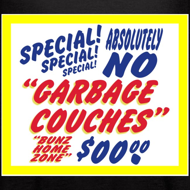 """Bunz Home Zone """"Loyal Larry"""" Garbage Couch"""