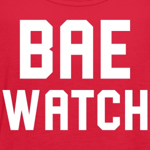 Bae Watch - Women's Flowy Tank Top by Bella
