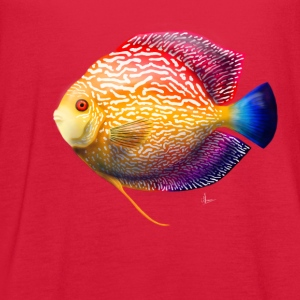 Discus Fish - Women's Flowy Tank Top by Bella