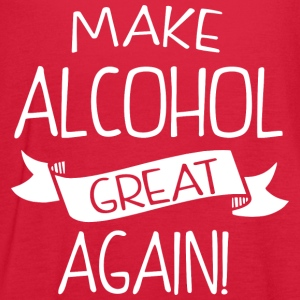 Make alcohol great again - Women's Flowy Tank Top by Bella