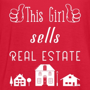 This Girl Sells Real Estate for Property Managers - Women's Flowy Tank Top by Bella