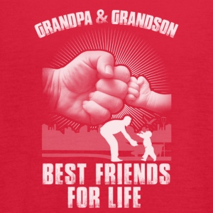 GrandPa and Grandson Best Friends For Life T-Shirt - Women's Flowy Tank Top by Bella
