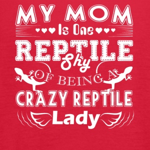 Crazy Reptile Lady T shirt - Women's Flowy Tank Top by Bella