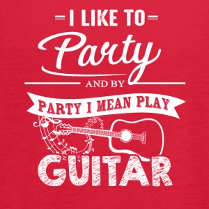 Play Guitar Shirts - Women's Flowy Tank Top by Bella