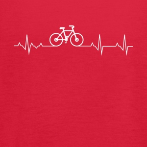 Cycling Heartbeat Lover - Women's Flowy Tank Top by Bella